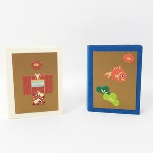 Sticky Note with Decorative Stickers, Set of 2